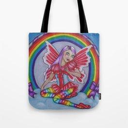 Rainbow Fairy Tote Bag