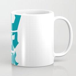 Poseidon Skull Wearing Crown Icon Coffee Mug