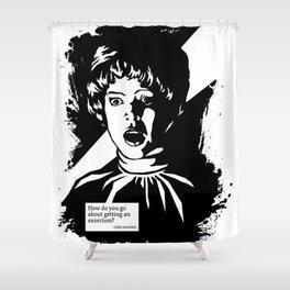 THE EXORCIST :: CHRIS MACNEIL Shower Curtain
