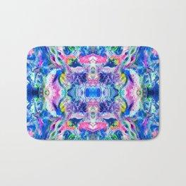 Bathbomb, psychedelic, trip, mushrooms, acid, lsd Bath Mat