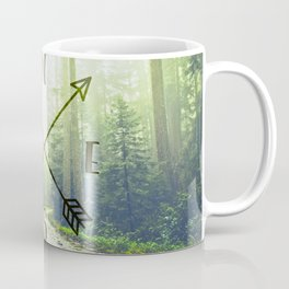 Compass in the Redwoods Coffee Mug