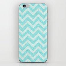 Chevron Aqua Dreams iPhone & iPod Skin