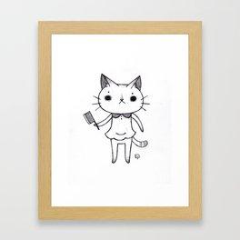 Lil Butcher Framed Art Print