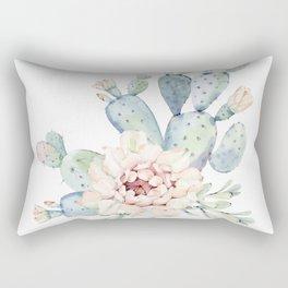 Perfect Cacti Rose Rectangular Pillow