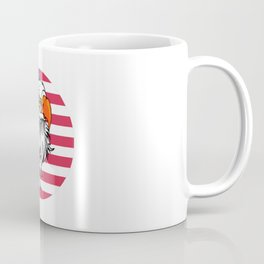 American Eagle Patriotic Sports And Nature Coffee Mug