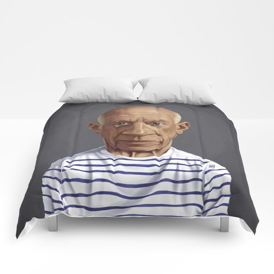 Celebrity Sunday ~ Pablo Picasso Comforters