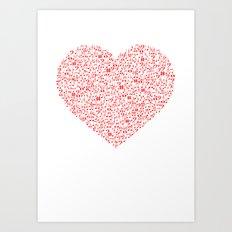 LOVE MUSIC Art Print