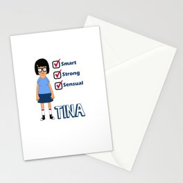 TINA- Smart, Strong, Sensual Stationery Cards