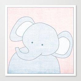 Elephant Jungle Series Print Canvas Print