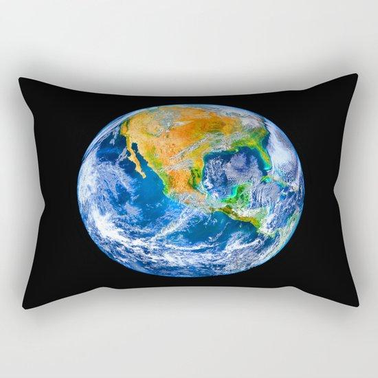 Earth Rectangular Pillow