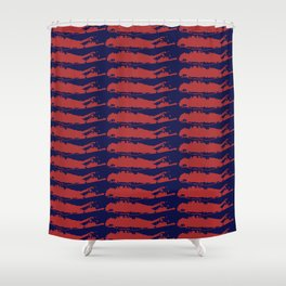 LAYERS OF Long Island Shower Curtain