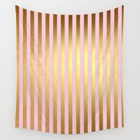 striped Wall Tapestries featuring Striped by Better HOME