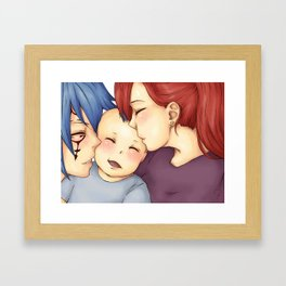 the future I share with you Framed Art Print