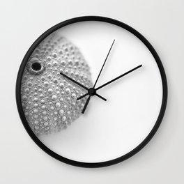 Urchin Black and White Wall Clock