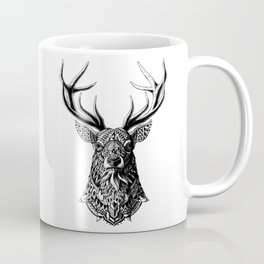 Ornate Buck Coffee Mug