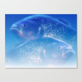 Pisces - Fishes Canvas Print
