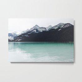 Lake Louise Reflections  Metal Print