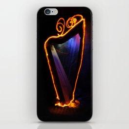 Harp Energy IX:  Gold Ornamentation iPhone Skin