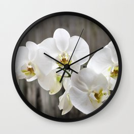 Pure Orchid Wall Clock