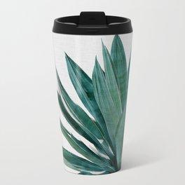 Agave Cactus Metal Travel Mug