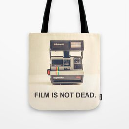 Film is not dead Tote Bag