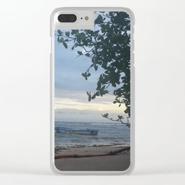 Puerto Viejo Clear iPhone Case