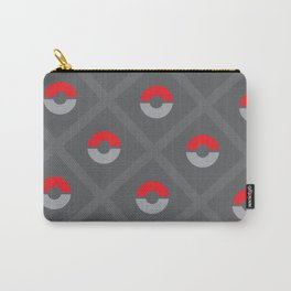 Pokéballs and Stripes Carry-All Pouch