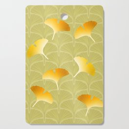 Ginkgo Biloba leaves pattern Cutting Board