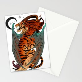 Spicy Manticore Stationery Cards