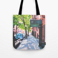Sunday Morning in Brooklyn, NY Tote Bag