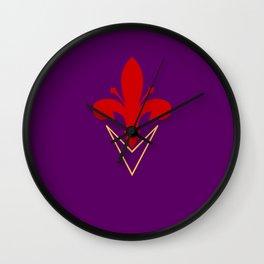 ACF Fiorentina Wall Clock
