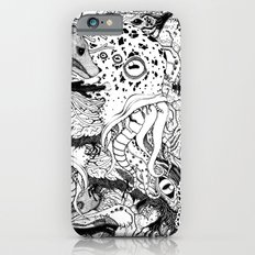 Mr Lovercraft's monsters iPhone 6s Slim Case