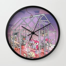 ACNH cute Wall Clock