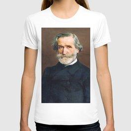 Giuseppe Verdi (1813 – 1901) by Giovanni Boldini (1842 - 1931) T-shirt