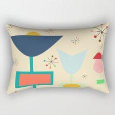 Mid Century modern #1 Rectangular Pillow