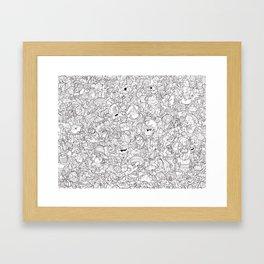 cherche et trouve ton Pirate Framed Art Print