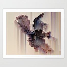 ABSENT Art Print