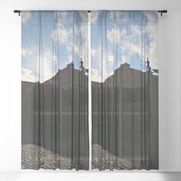 Castle Grounds: Dublin Sheer Curtain