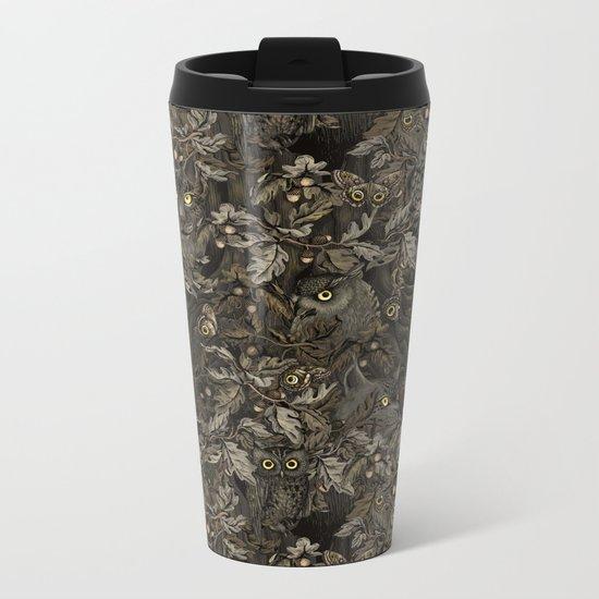 Fit In (autumn night colors) Metal Travel Mug
