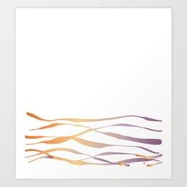 A Bottomless Sea No. 3 Sunset Art Print