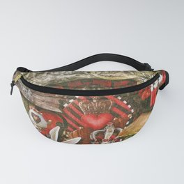 Queen of the Hearts Fanny Pack