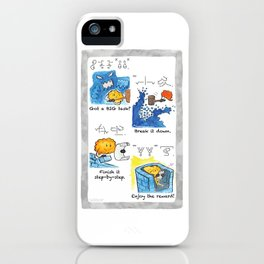Got a BIG task? iPhone Case