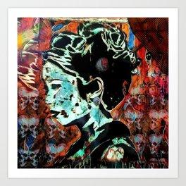 Izanami-no-Mikoto: She Who Invites Art Print