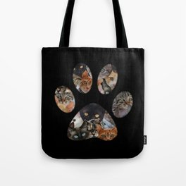 Cats Paw Tote Bag