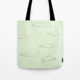 Anchovies Tote Bag
