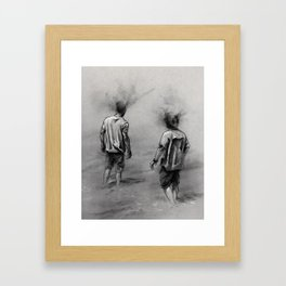 Minds Alive Framed Art Print