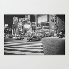 Shibuya Crossing Canvas Print