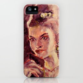 Anne iPhone Case