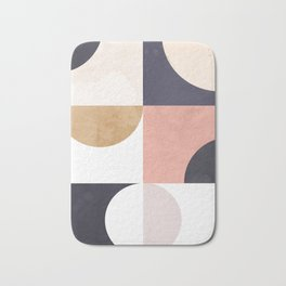 Geometric Moontime 1 Bath Mat