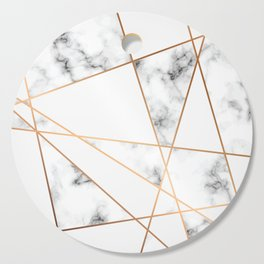 Marble Geometry 054 Cutting Board